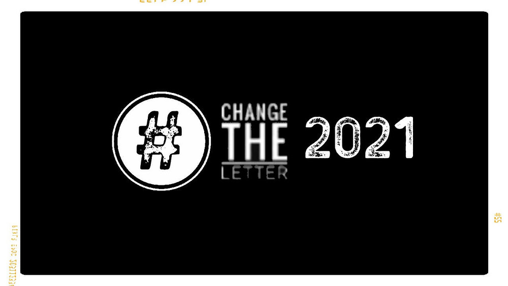 Change the Letter blog post August 2nd 2020.