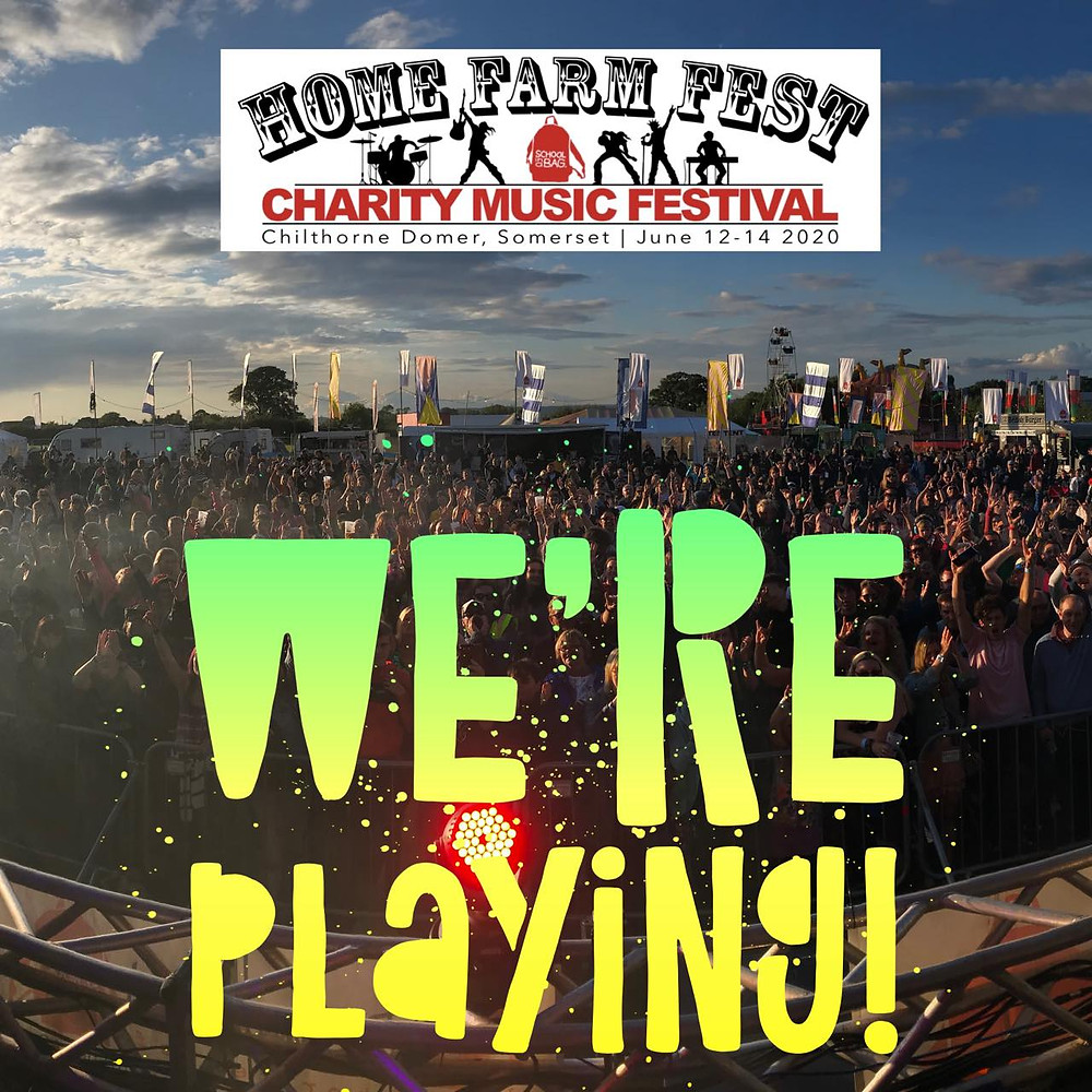 We're Playing Home Farm Fest 2020. Change the Letter Live at HFF 2020