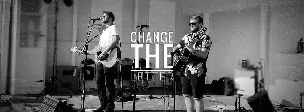 Change the Letter live in Newquay, Cornwall. On stage at Newquay Sessions 2019.