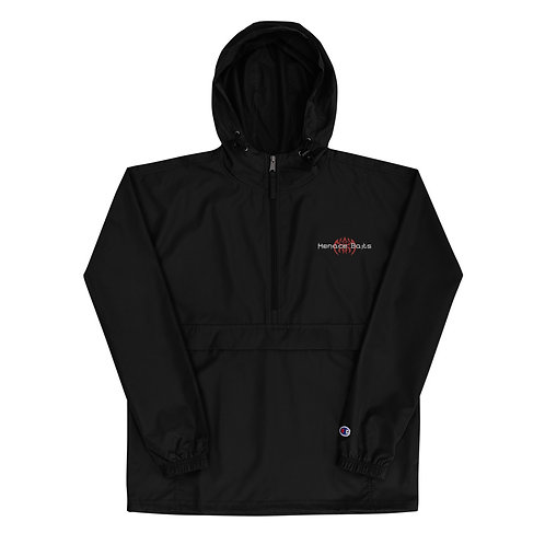 Menace Baits Embroidered Champion Packable Jacket