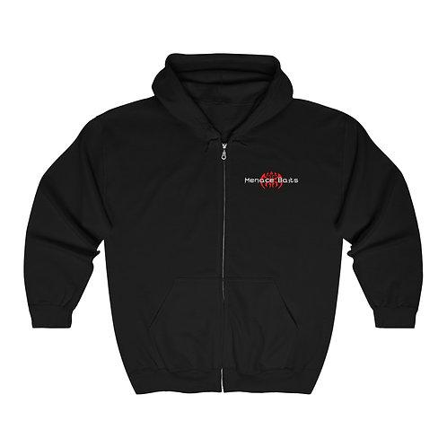 Menace Baits Full Zip Hooded Sweatshirt