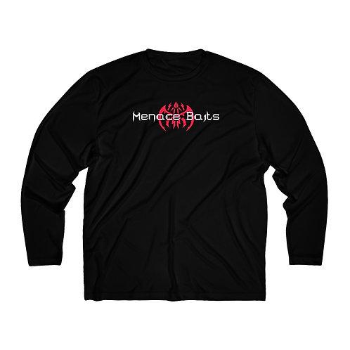 Menace Baits Black Long Sleeve Performance Shirt