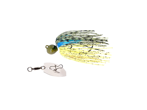 Bluegill Original Menace Jig with a Menace Pulse Maker