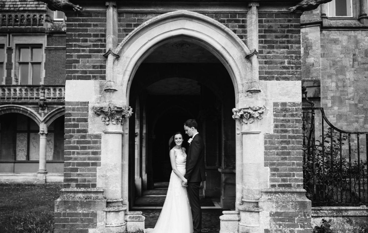 Alastair & Rebecca in the Loggia