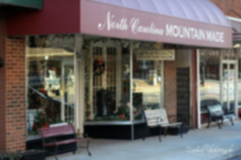 NC Mountain Made store in Franklin, North Carolina