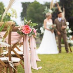 Outdoor ceremonies at Minley