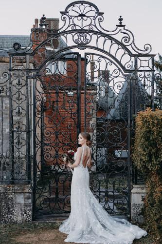 Our many original wrought iron gates