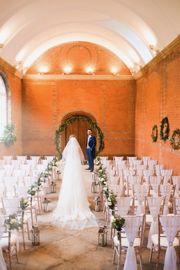 Inside The Orangery at Minley Manor