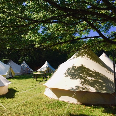 Camping events at Minley Manor