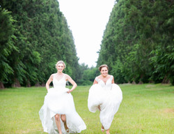 Blissful brides