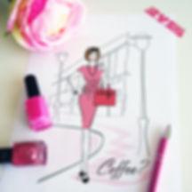 Custom Lady boss illustrtion