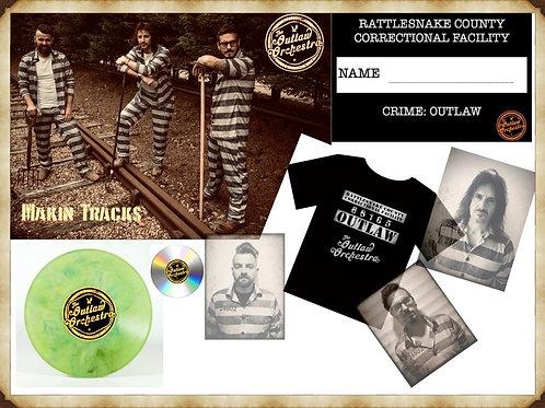'Makin Tracks' SOLO Inmate Vinyl Deal