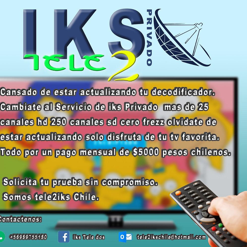 Cuenta IKS | ikstele2chile