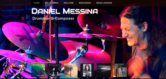 Homepage Daniel Messina