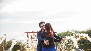Séance engagement au jardin d'Eyrignac (24)