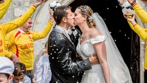 Mariage chic remplit d'amour