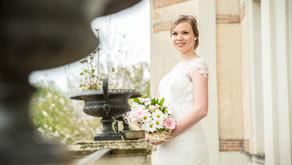Une mariée au château de la Morinière