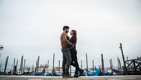 Séance engagement à Venise