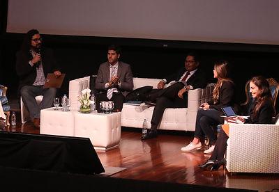 Panel durante encuentro de Iberoamérica Digital