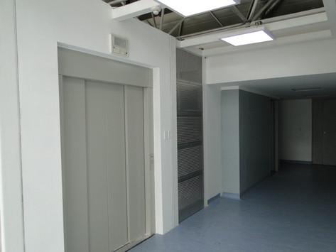 Nuevo ascensor para el acceso de pacientes al Área Quirúrgica