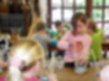 Schulprojekt Korbflechten