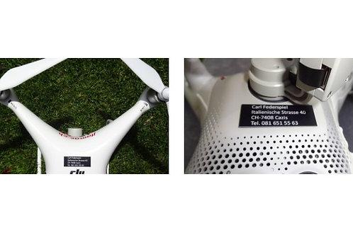 Plakette für  den Modellflug (Flugzeuge, Helikopter,  usw.) swissmade