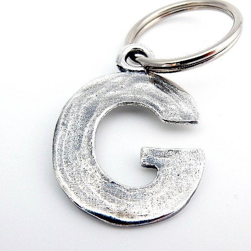 "Letter ""G"" Dog ID Tag"