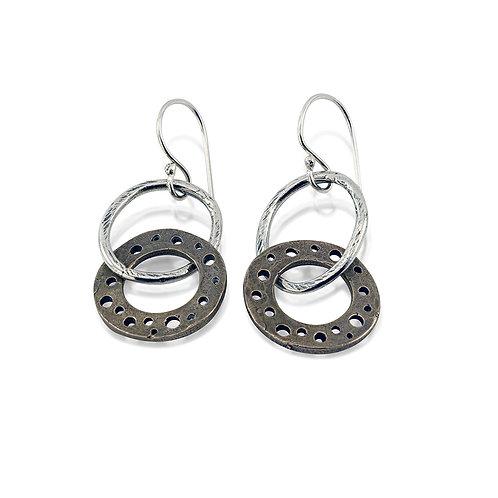 Dangly Hoop Earrings