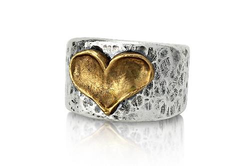 Bronze Heart Ring