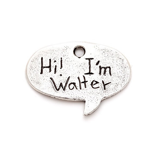 Small Speech Bubble ID Tag