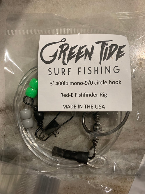 3' Red-E Fishfinder rig w/ 9 or 10/0 hook