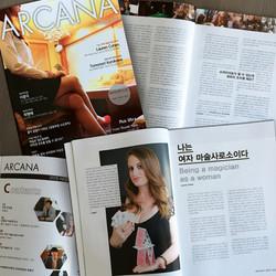 Publication in ARCANA Magazine