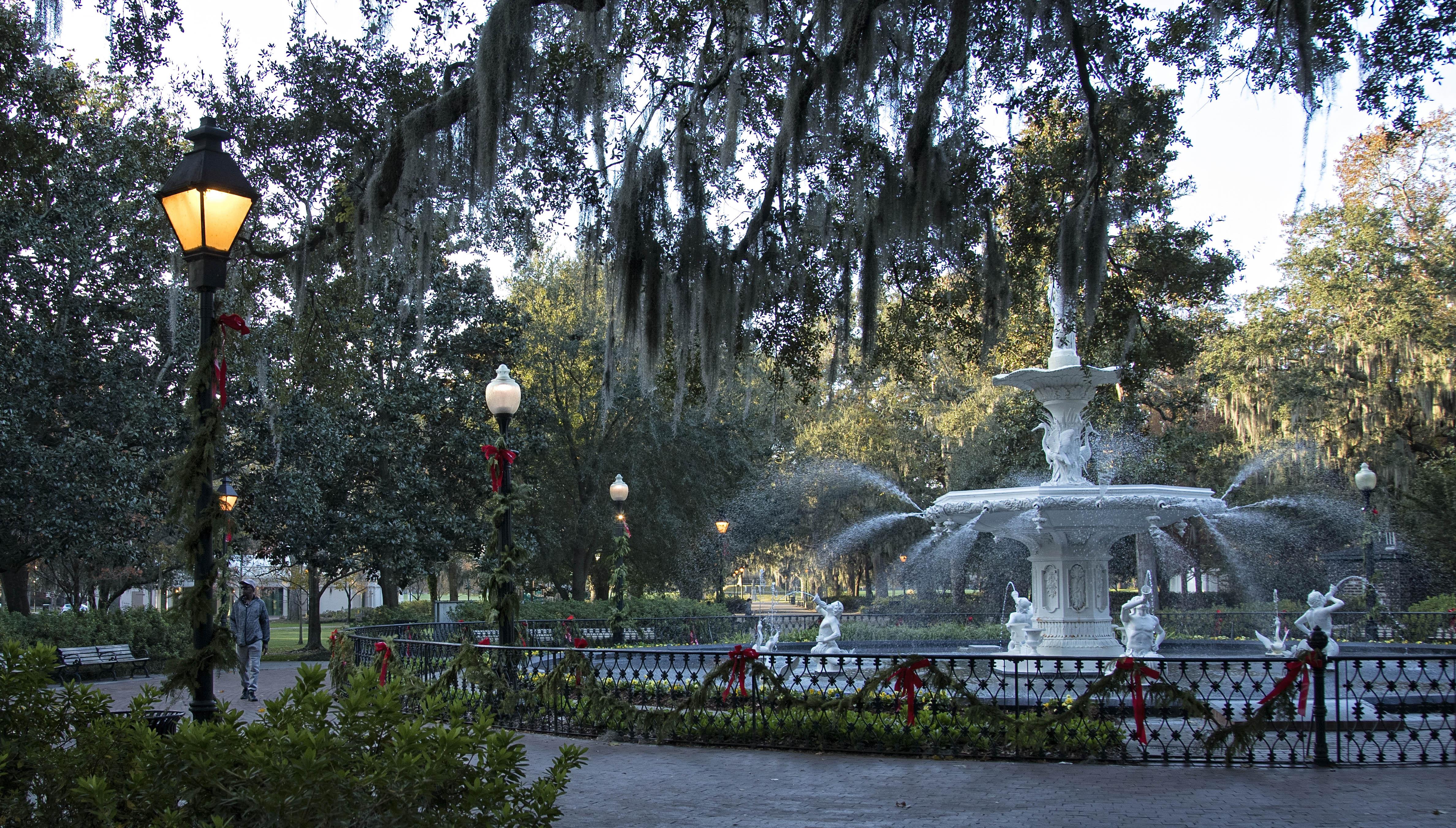 Forsyth Park Fountain 1