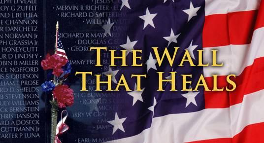 Vietnam Memorial Wall that Heals Visits Oregon