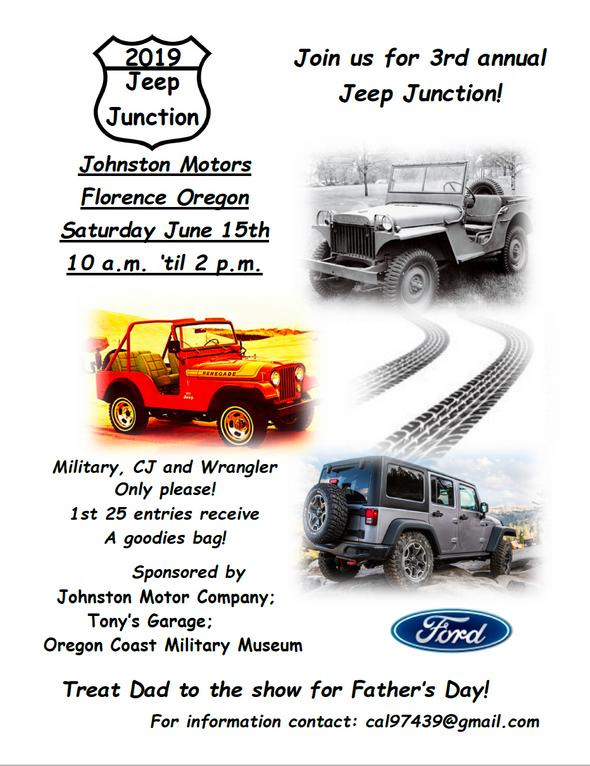 Oregon Coast Military Museum Celebrates Jeep