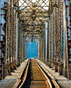 Cushman Bridge southbound rails