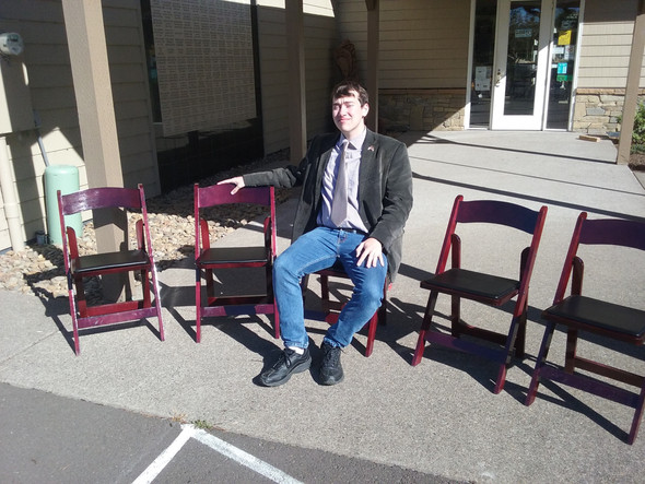 Oregon Coast Military Museum Acquires Chairs with Grant from WLCF