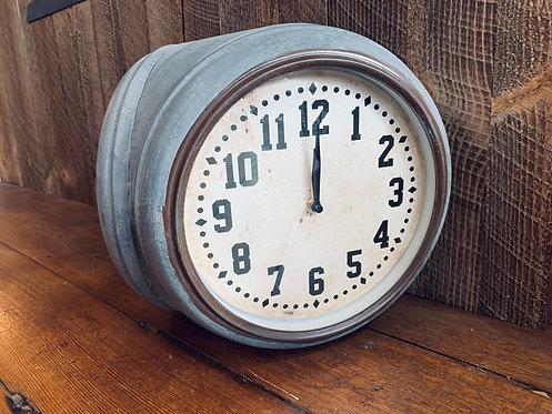 Two Faced Corner Clock