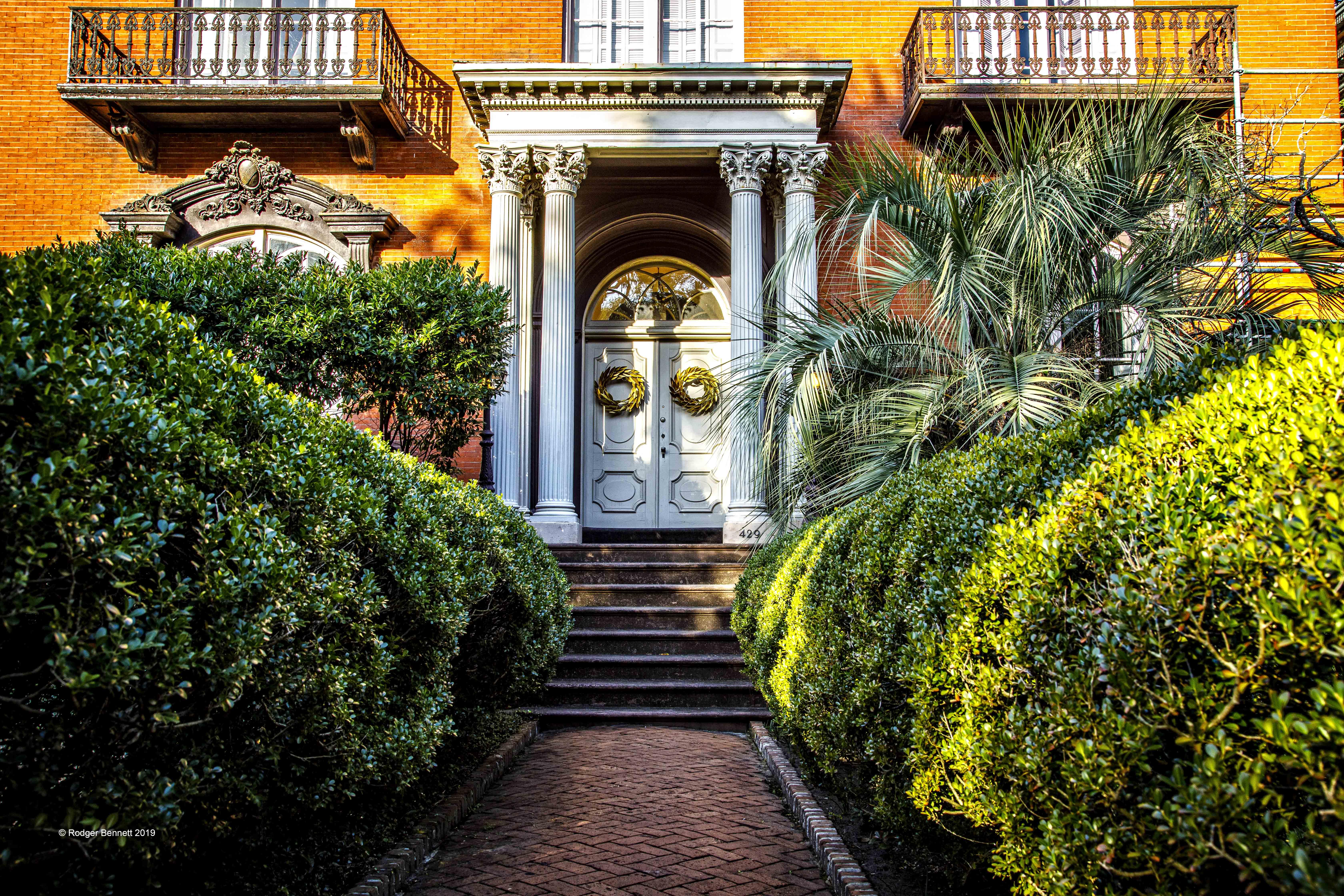 Savannah good and evil mansion