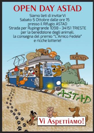 Open Day all'Astad, Vi aspettiamo il 5 ottobre!
