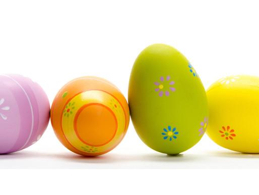 Banchetti di Aprile e uova di Pasqua!!!