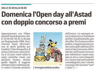Concorso a premi all'Open Day!
