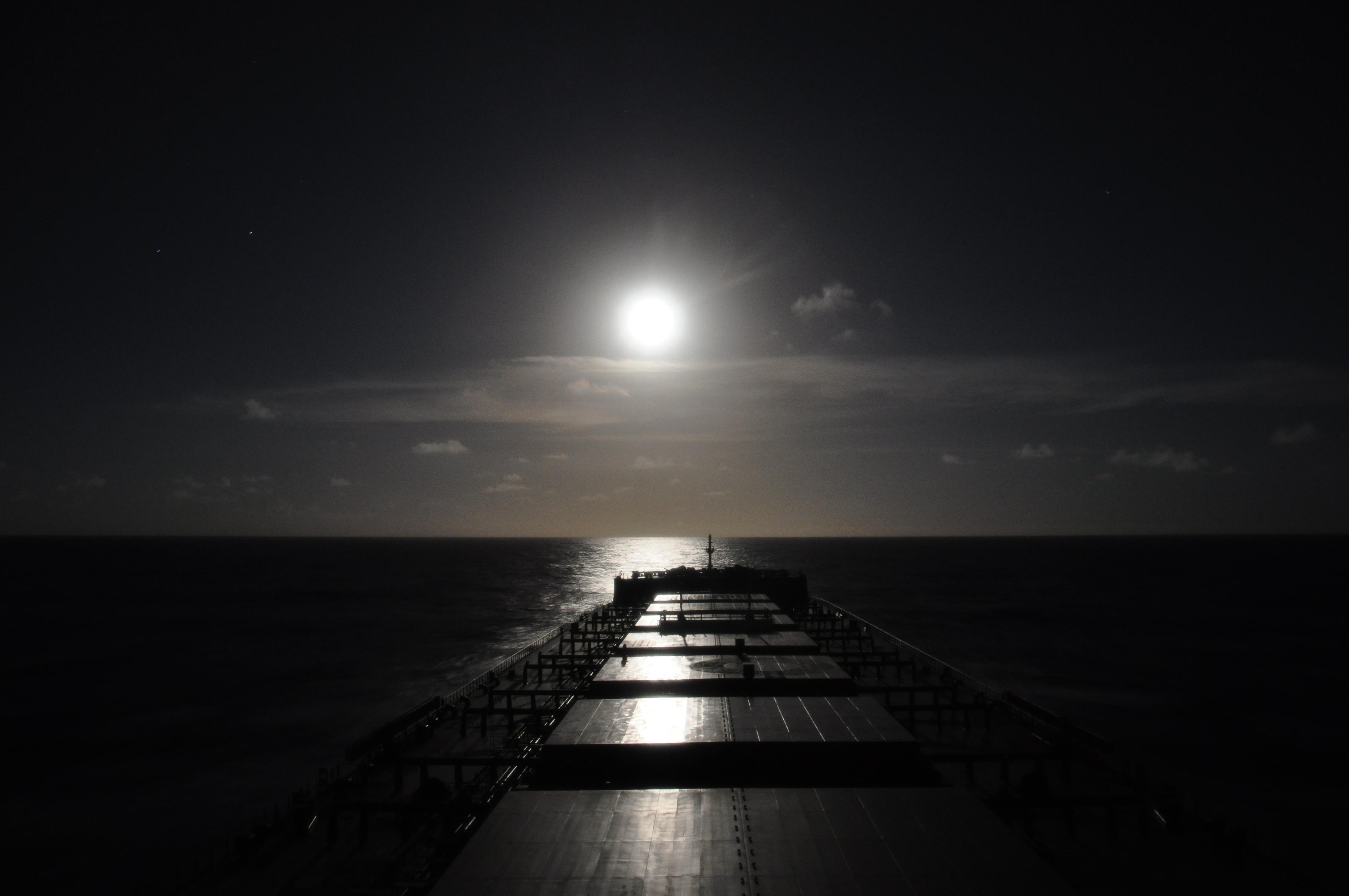 Vessel in Moonlight