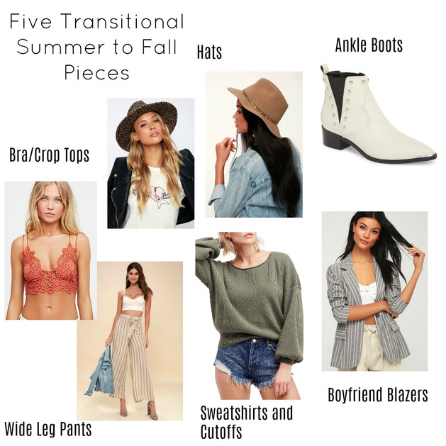 bb49c192f195 Five Transitional Summer to Fall Pieces