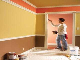 "Painting your Interior Walls!               "" What goes on before the paint """