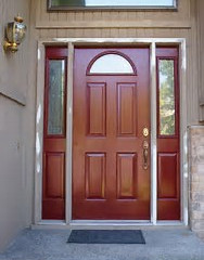 Cost to paint a front door