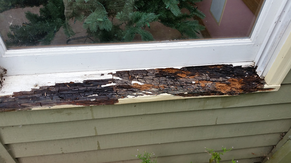Before rotted sill