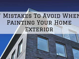 7 Mistakes To Avoid When Painting Your Home Exterior in St. Helens, OR