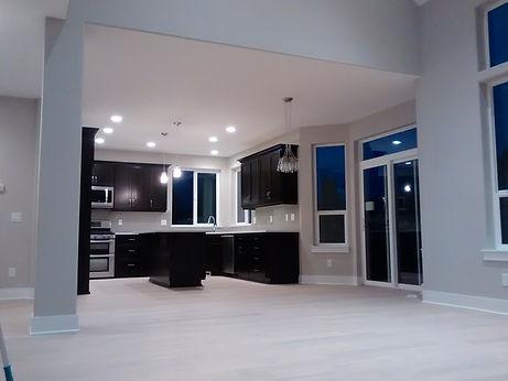 Nice new kitchen area
