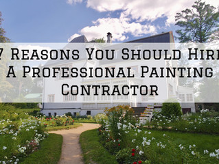 7 Reasons You Should Hire A Professional Painting Contractor in St. Helens, OR